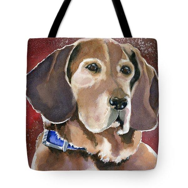 Dottie Tote Bag by Marsha Elliott
