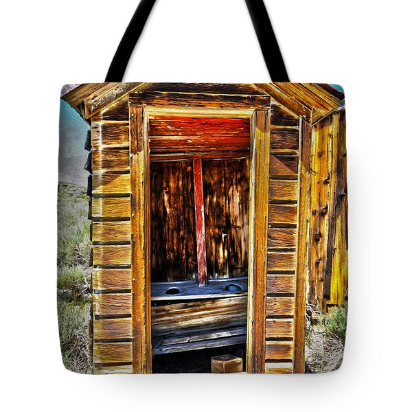 Double Header Tote Bag by Cheryl Young