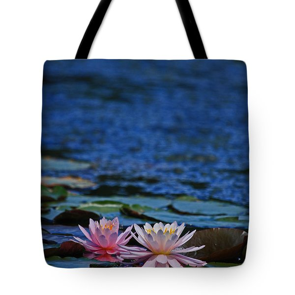 Double Lily Tote Bag by Karol Livote
