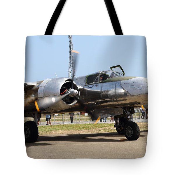 Douglas A26B Military Aircraft 7d15748 Tote Bag by Wingsdomain Art and Photography