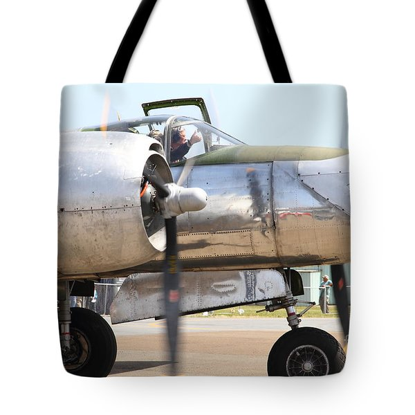 Douglas A26B Military Aircraft 7d15763 Tote Bag by Wingsdomain Art and Photography