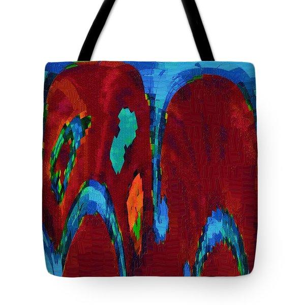 Down On My Knees Tote Bag by Alec Drake