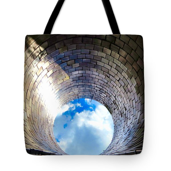 Down The Hole Tote Bag by Michelle Milano
