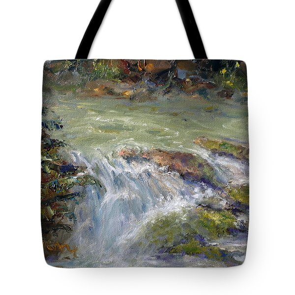 Downstream Tote Bag by Marie Green