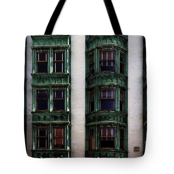 Downtown San Francisco Tote Bag by Bob Christopher