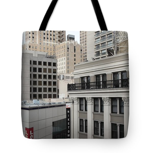 Downtown San Francisco Buildings - 5D19323 Tote Bag by Wingsdomain Art and Photography
