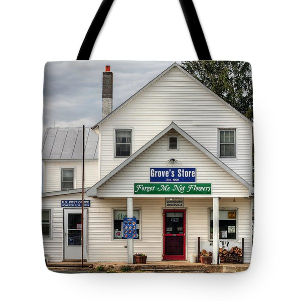 Dowtown Somerville Tote Bag by JC Findley