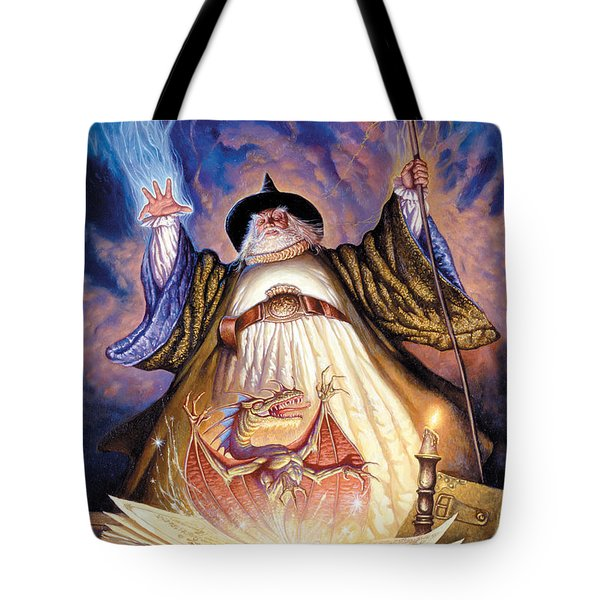 Dragon Spell Tote Bag by The Dragon Chronicles