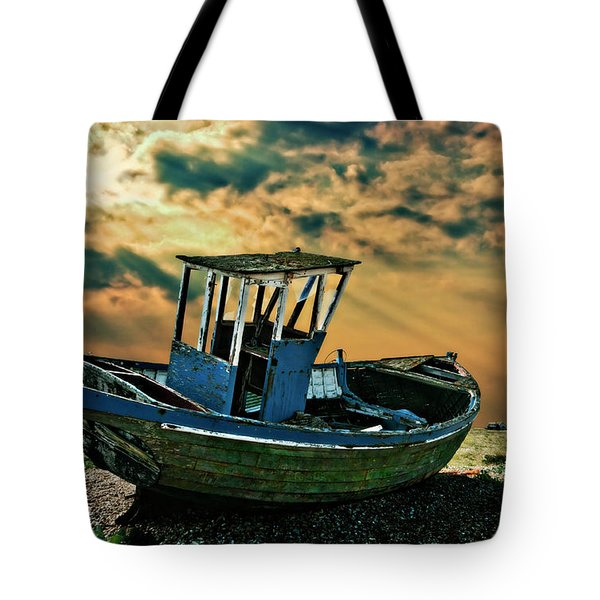 Dramatic Dungeness Tote Bag by Meirion Matthias
