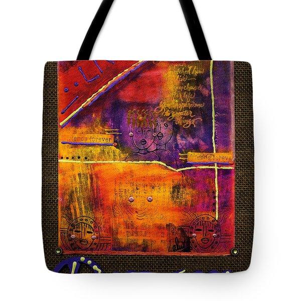 Dream Banner Tote Bag by Angela L Walker