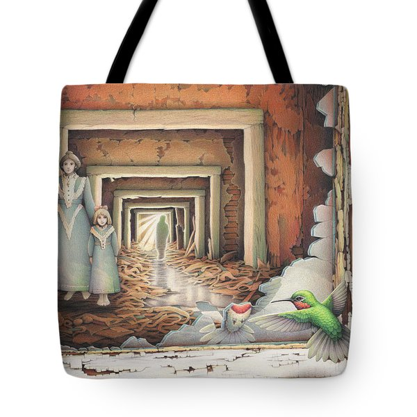 Dream Series - Transfixed Tote Bag by Amy S Turner