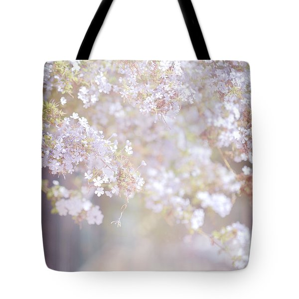 Dreaming Of Spring Tote Bag by Jenny Rainbow