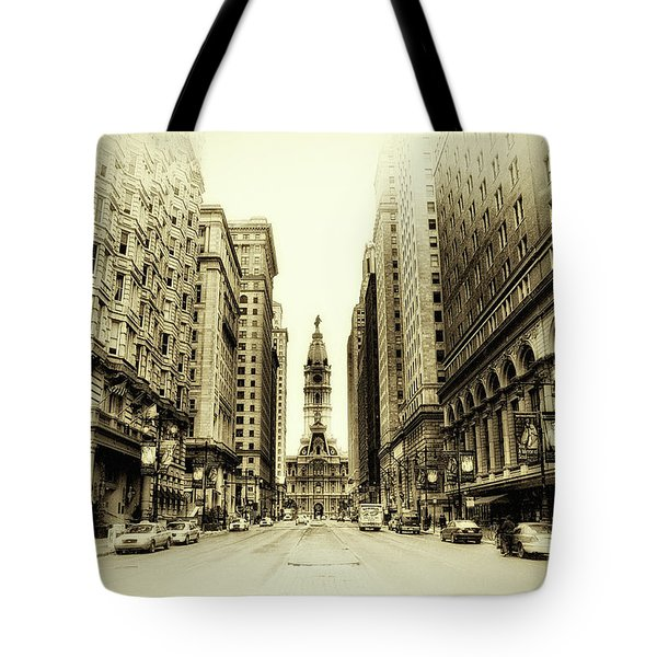 Dreamy Philadelphia Tote Bag by Bill Cannon
