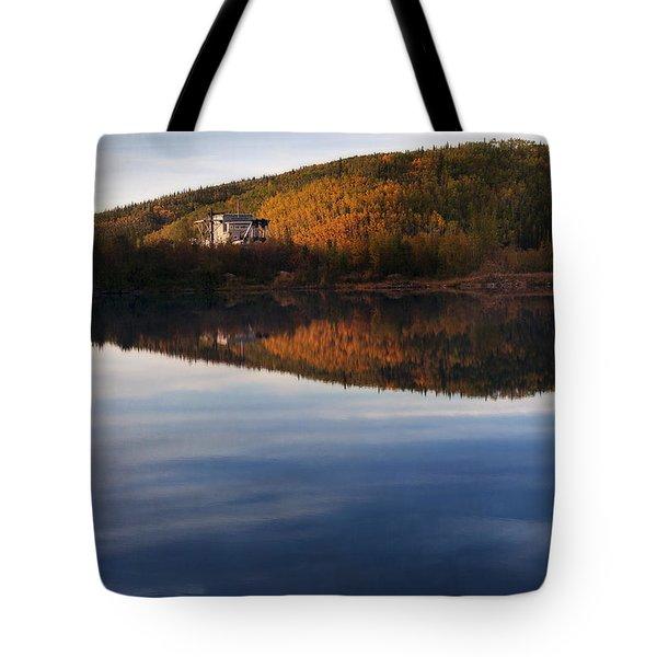 Dredge No. 4  Tote Bag by Priska Wettstein