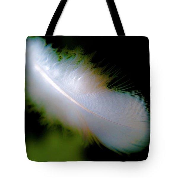 Driftingfeather Tote Bag by Grebo Gray
