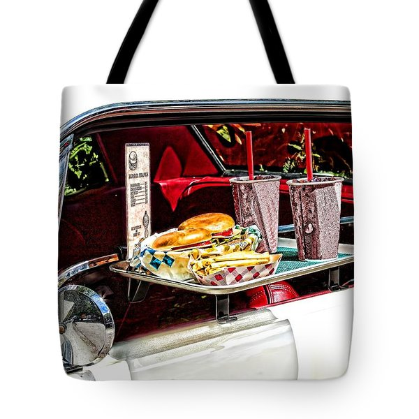 drive-in Tote Bag by Rudy Umans