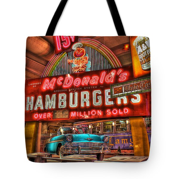 Driving America Dearborn Mi Tote Bag by Nicholas  Grunas