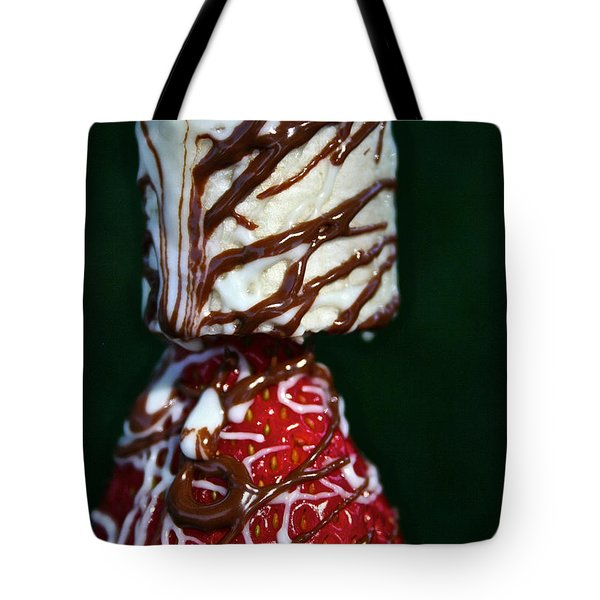 Drizzle Dripping Tote Bag by Susan Herber