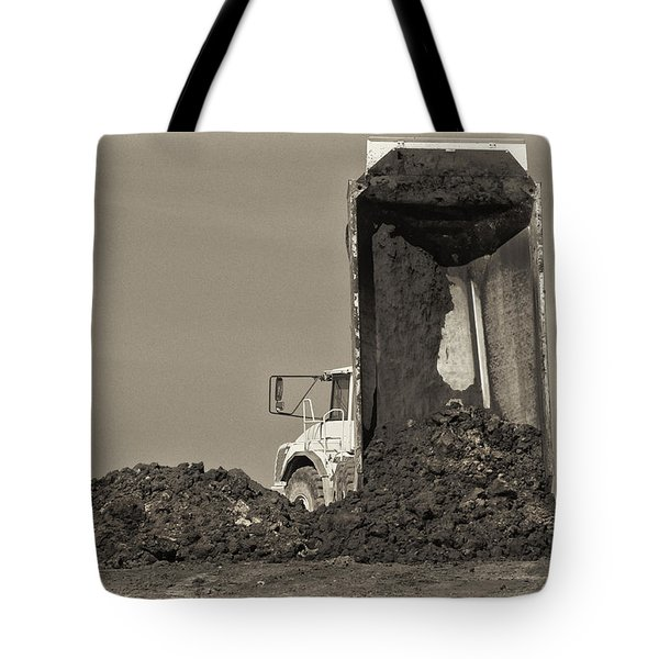 Drop Off Tote Bag by Patrick M Lynch