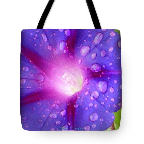 Droplets Glory Tote Bag by Sonali Gangane