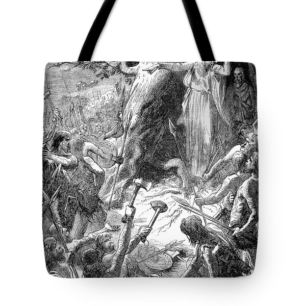 Druids And Britons Tote Bag by Granger