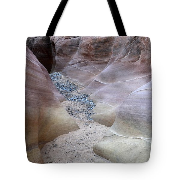 Dry Creek Bed 3 Tote Bag by Bob Christopher