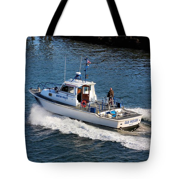 Due Process Tote Bag by Kristin Elmquist
