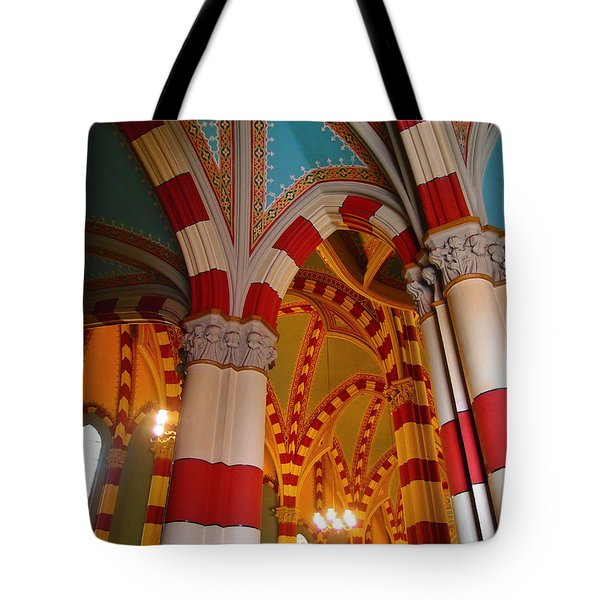 Dulce Iglesia Tote Bag by Skip Hunt