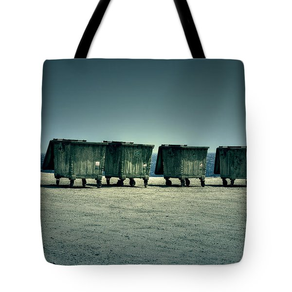 Dumpster Tote Bag by Joana Kruse