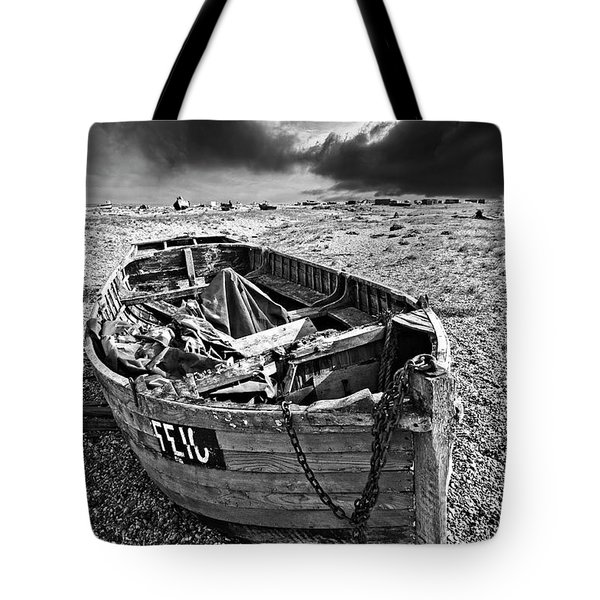 Dungeness Decay Tote Bag by Meirion Matthias