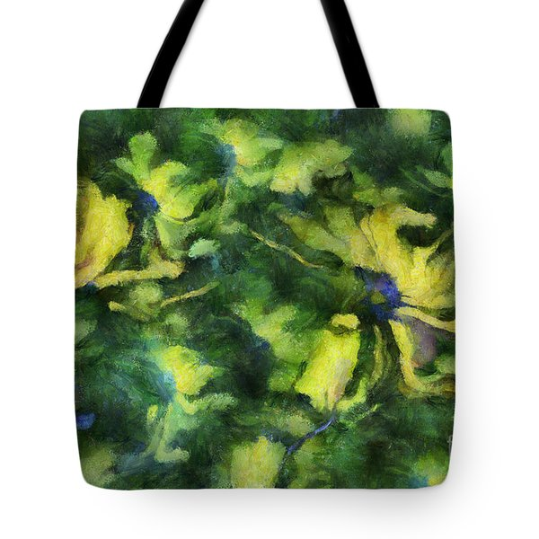 Duo Daisies - Bk01bdp01a Tote Bag by Variance Collections