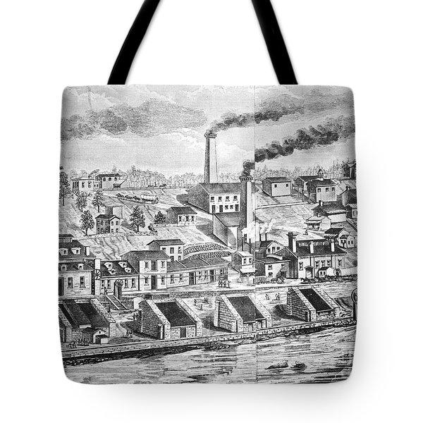 Dupont Powder Mill, 1854 Tote Bag by Granger
