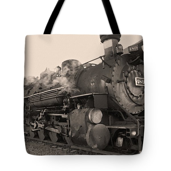 Durango Silverton 480 Sepia Tote Bag by Ernie Echols