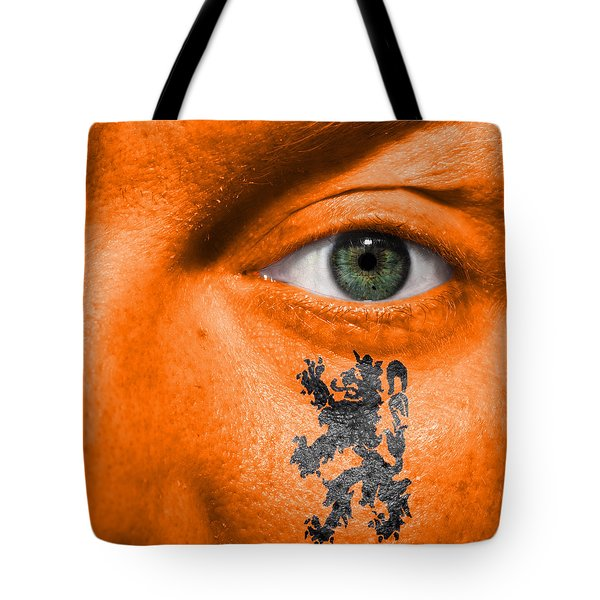 Dutch Lion - Coat Of Arms Tote Bag by Semmick Photo