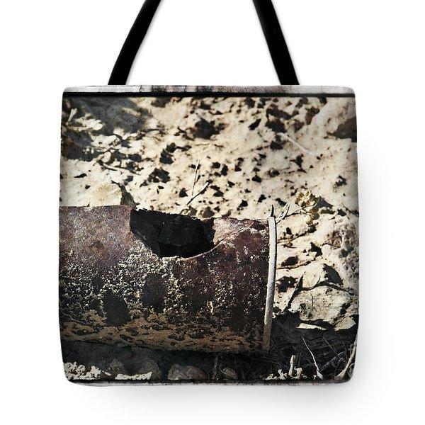 E V I D E N C E Tote Bag by Charles Dobbs