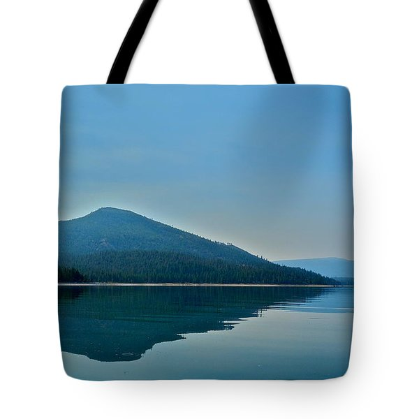 Eagle Lake Blues Tote Bag by Kirsten Giving