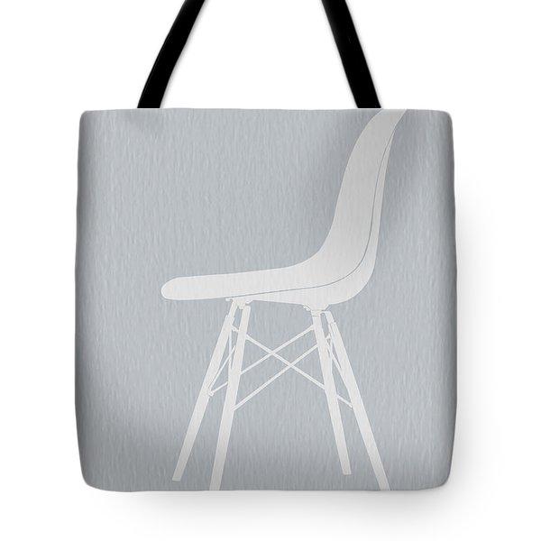 Eames Fiberglass Chair Tote Bag by Naxart Studio