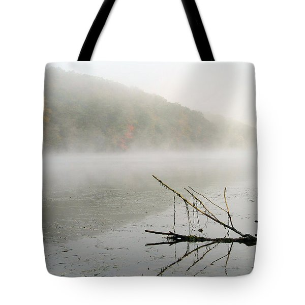 Early Autumn Morn Tote Bag by Karol  Livote