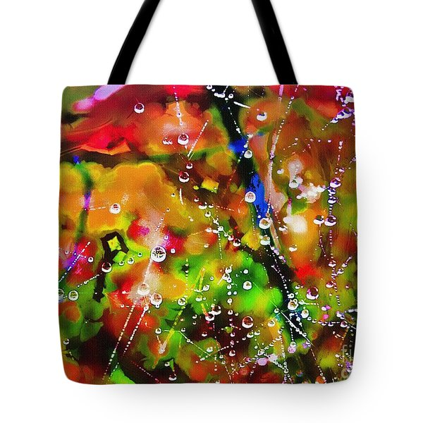 Early Morning Dew Tote Bag by Judi Bagwell