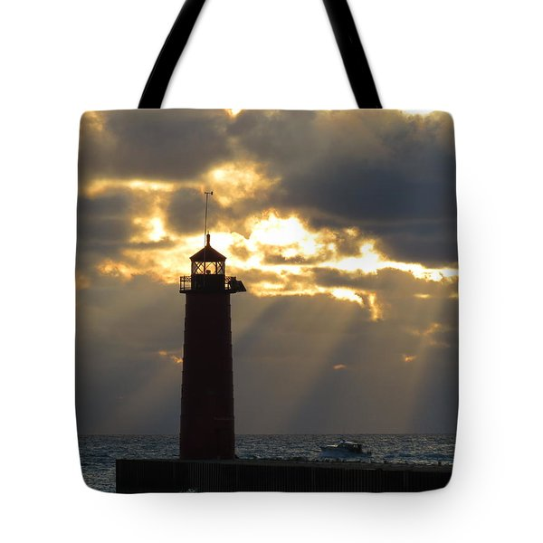 Early Morning Rays Tote Bag by Kay Novy