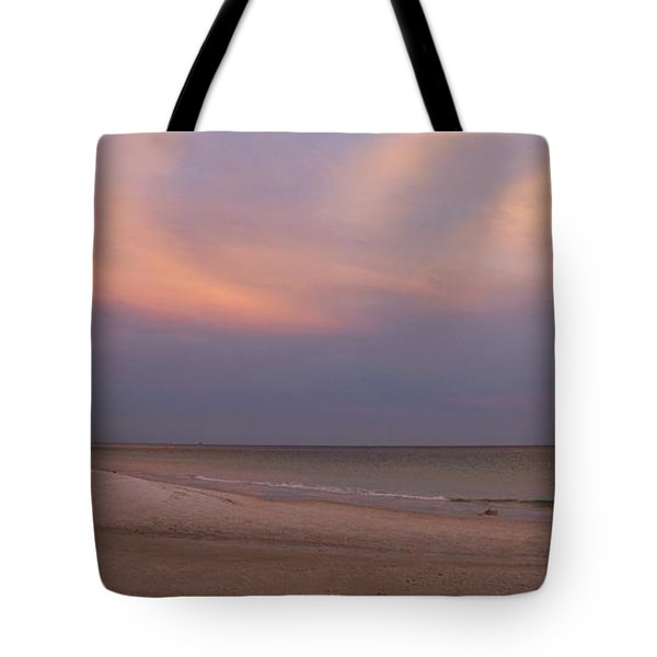East - After The Sunset Tote Bag by Sandy Keeton