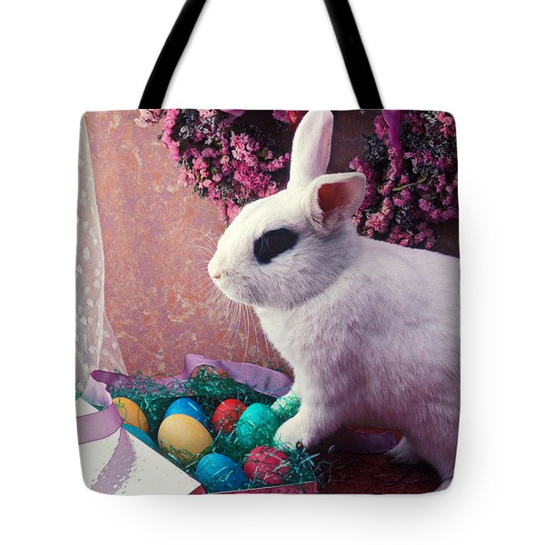 Easter Bunny Tote Bag by Garry Gay