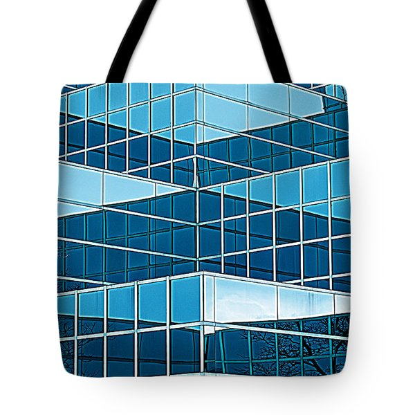 Eastern Michigan University 1142 Tote Bag by Michael Peychich