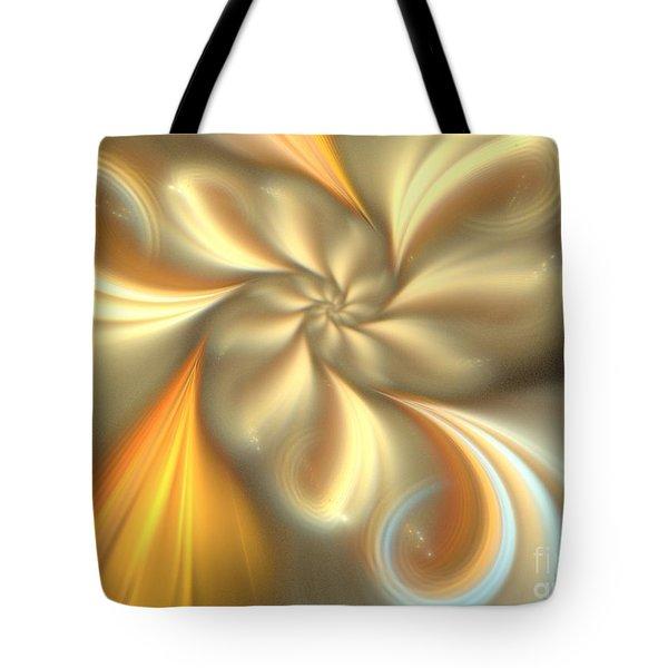 Ecru Tote Bag by Kim Sy Ok