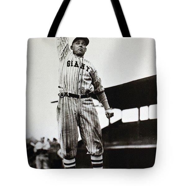 Edd Roush (1893-1988) Tote Bag by Granger