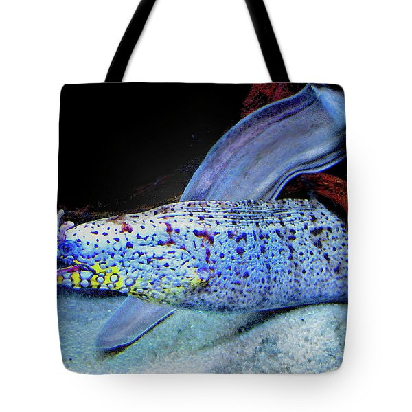 eel Tote Bag by Jane Schnetlage