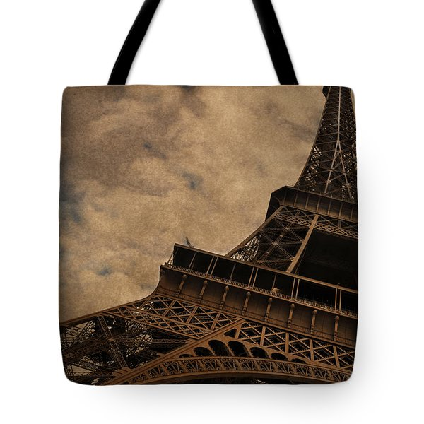 Eiffel Tower 2 Tote Bag by Mary Machare