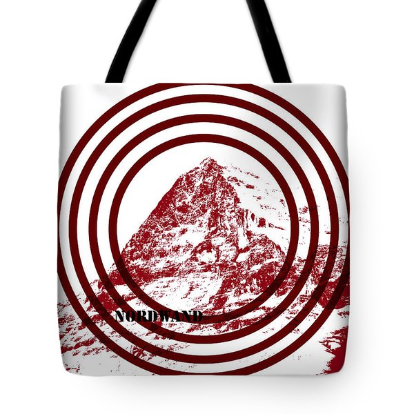 Eiger Nordwand Tote Bag by Frank Tschakert