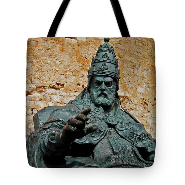 El Papa Luna ... Tote Bag by Juergen Weiss