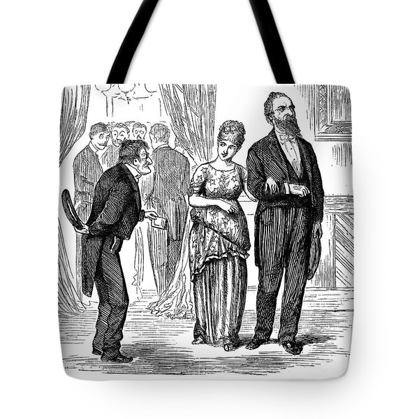 Election Cartoon, 1877 Tote Bag by Granger